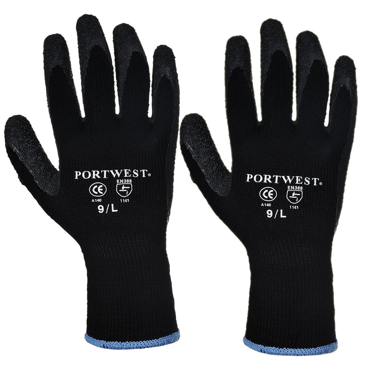 Goedkope Portwest Thermo Winter Werkhandschoenen A140 Grip