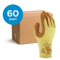 Bundelkorting Showa Grip 310 oranje - 60 paar