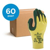 Bundelkorting Showa Grip 310 groen - 60 paar