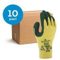 Bundelkorting Showa Grip 310 groen - 10 paar